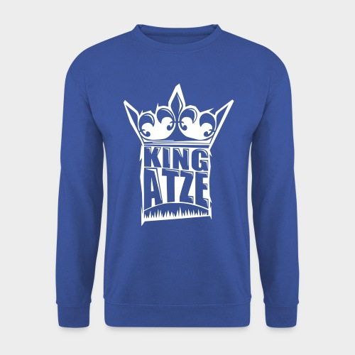 KING ATZE ROYAL SWEATER  LOGO WHITE - Männer Pullover