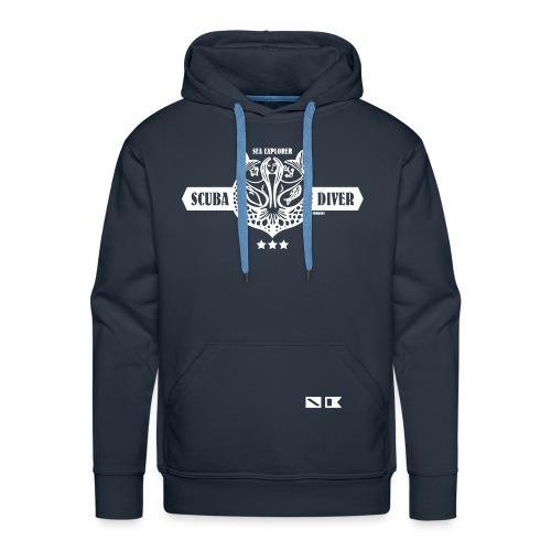FROGMAN SEA EXPLORER - Sweat-shirt à capuche Premium pour hommes
