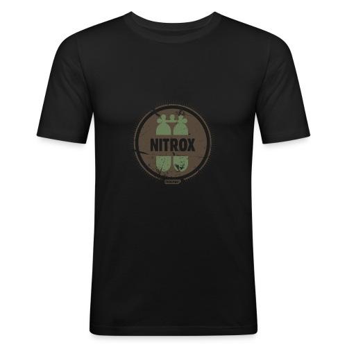 FROGMAN NOIR&OLIVE PLONGEE BOUTEILLE - T-shirt près du corps Homme