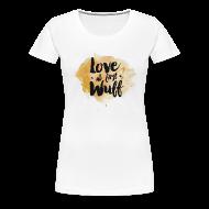 T-Shirts ~ Frauen Premium T-Shirt ~ Love at first Wuff