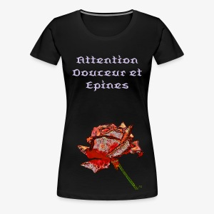 Rose Fauve - Women's Premium T-Shirt