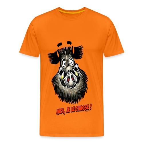 moi, je le chasse ! - T-shirt Premium Homme