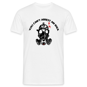 You can't arrest an idea - Men's T-Shirt
