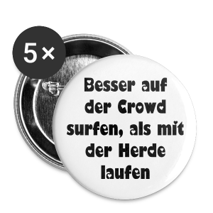 Crowd  - Buttons groß 56 mm