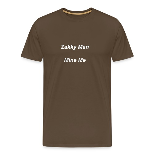 Zakky Man Mine Me Men Top - Men's Premium T-Shirt