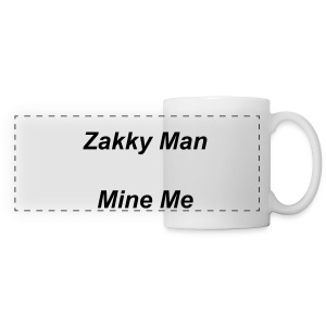 Zakky Man Mine Me Mug - Panoramic Mug