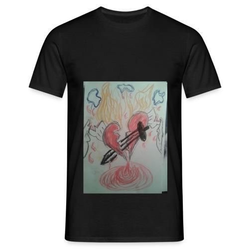 Broken Heart - Männer T-Shirt