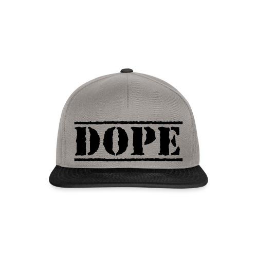Dope Cap - Snapback Cap