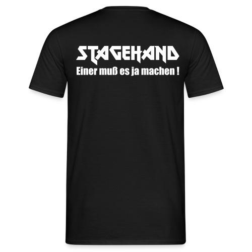 Stagehand Einer muss es ja machen