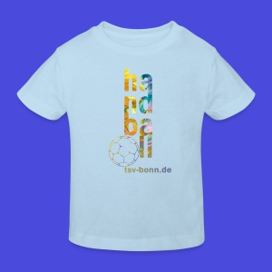 TSV Kinder Bio T-Shirt Handball vertikal babyblue - Kinder Bio-T-Shirt
