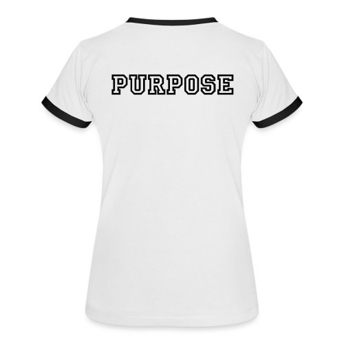 Purpose - Woman T-shirt  - T-shirt contrasté Femme