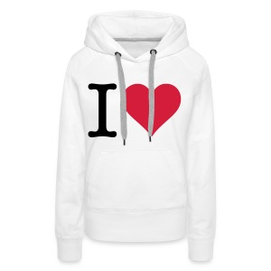 I love the original Hoodies & Sweatshirts - Women's Premium Hoodie