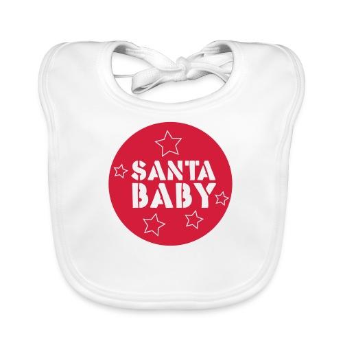 santa baby - Baby Bio-Lätzchen