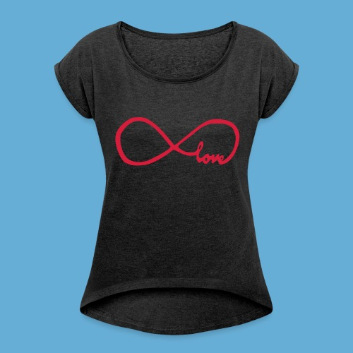 YASMINE AMOUR INFINI - T-shirt à manches retroussées Femme