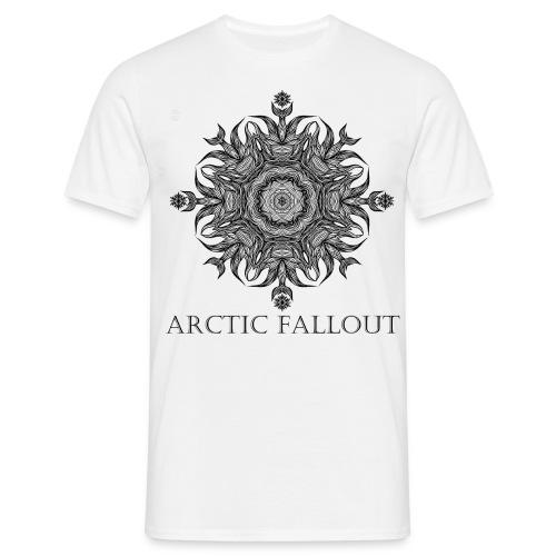 Arctic Mandala white - Männer T-Shirt