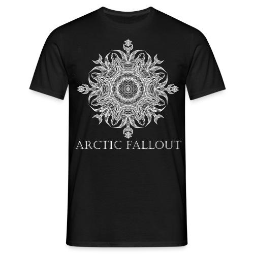 Arctic Mandala Black - Männer T-Shirt