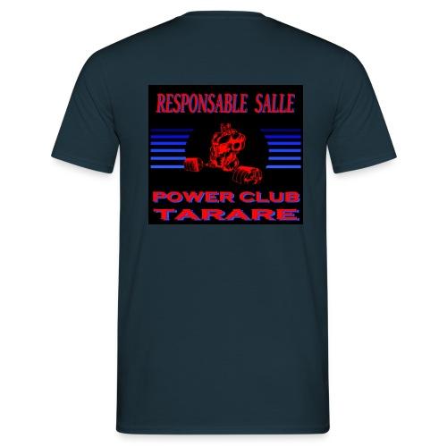 TEE SHIRT RESPONSABLE SALLE - T-shirt Homme