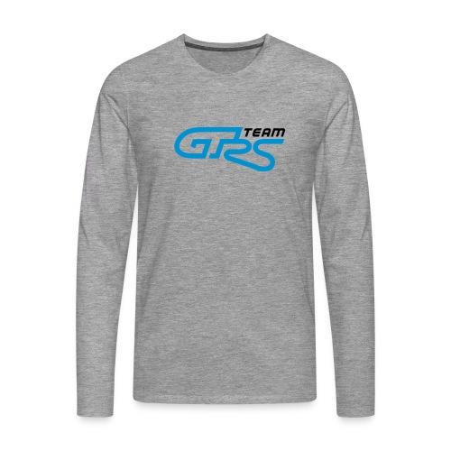 T-shirt manches longues GTrs gris cendré - T-shirt manches longues Premium Homme