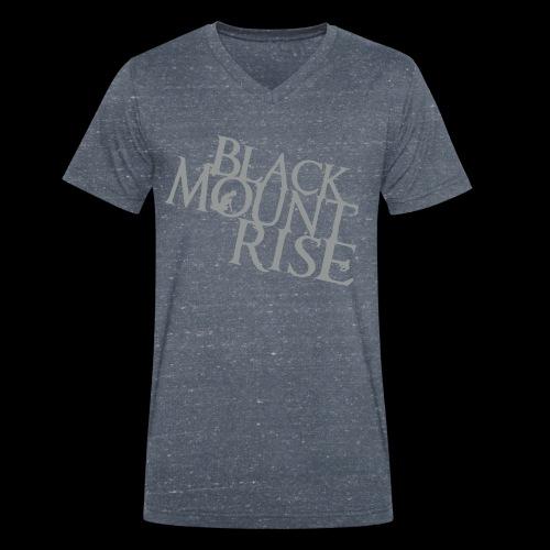 BMR Shirt (grey)  - Männer Bio-T-Shirt mit V-Ausschnitt von Stanley & Stella
