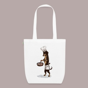 Dachshund Cook - EarthPositive Tote Bag