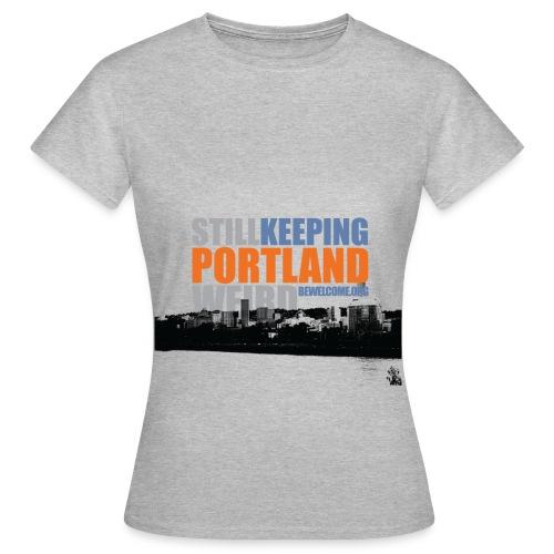 Mens Bewelcome T-Shirt (Portland/ All Colors). - Women's T-Shirt