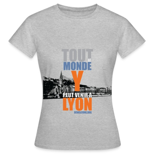 Mens Bewelcome T-Shirt (Lyon/ All Colors). - Women's T-Shirt