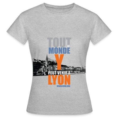 Mens Bewelcome T-Shirt (Lyon/ All Colors). - Women's T-Shirt