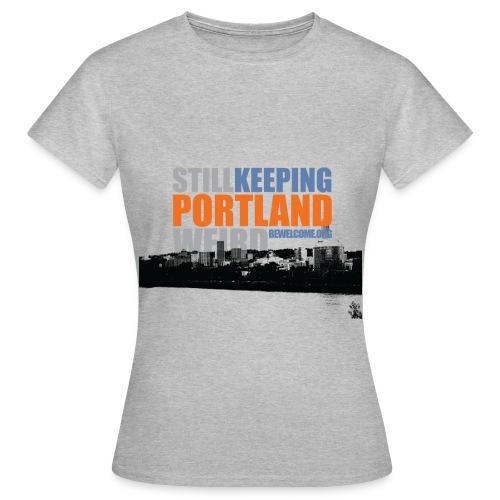 Womens Bewelcome T-Shirt (Portland/ All Colors). - Women's T-Shirt