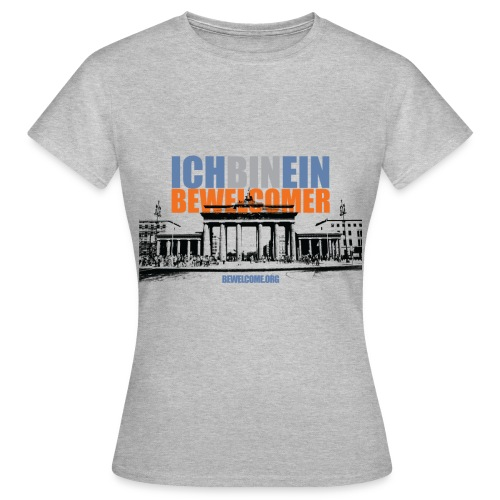 Womens Bewelcome T-Shirt (Berlin/ All Colors). - Women's T-Shirt