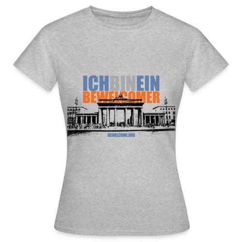 Womens Bewelcome T-Shirt (Berlin/ All Colors). - Women's T-Shirt