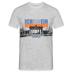 Men's BeWelcome T-SHirt (Berlin, All Colors).  - Men's T-Shirt