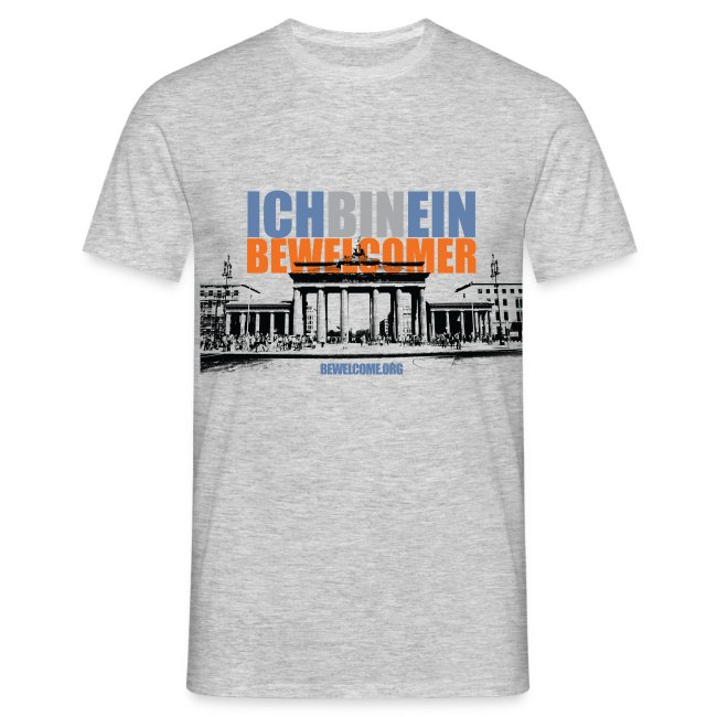 Men's BeWelcome T-SHirt (Berlin, All Colors).