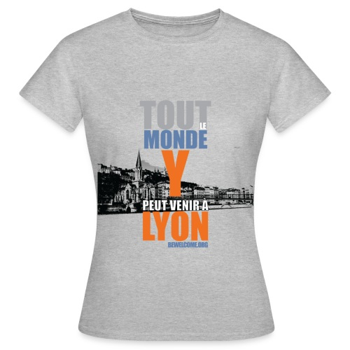 Womens Bewelcome T-Shirt (Lyon/ All Colors). - Women's T-Shirt