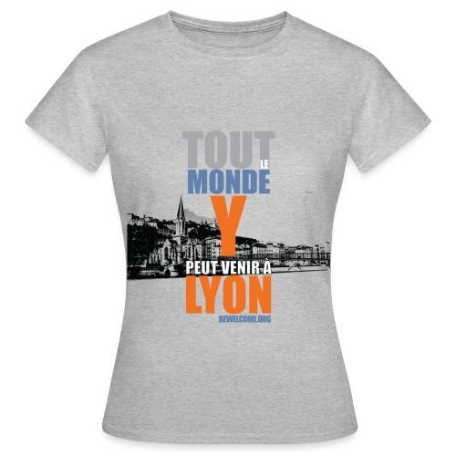 Womens Bewelcome T-Shirt (Lyon/ All Colors). - Women's T-Shirt