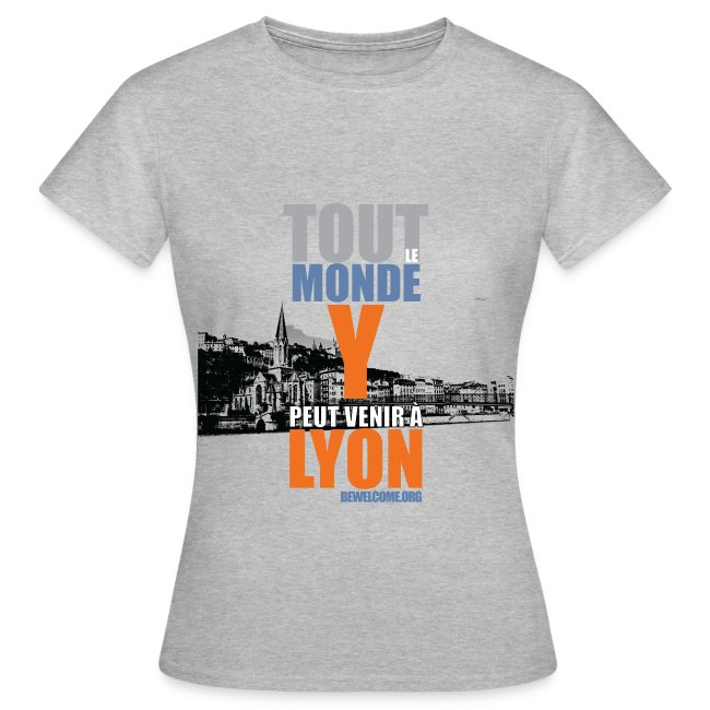 Womens Bewelcome T-Shirt (Lyon/ All Colors).