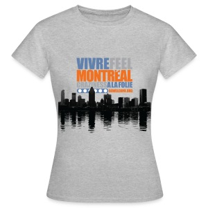 Womens Bewelcome T-Shirt (Montreal/ All Colors). - Women's T-Shirt