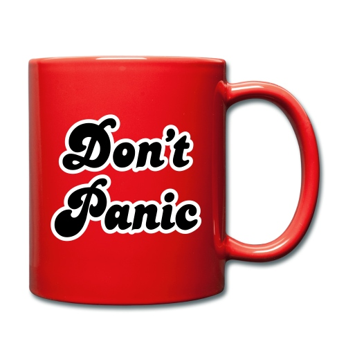 Don't Panic - the mug - Full Colour Mug