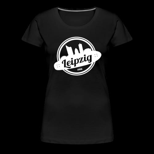 PNK - DRIVE YOUR CITY [ Leipzig ] - Women - Frauen Premium T-Shirt