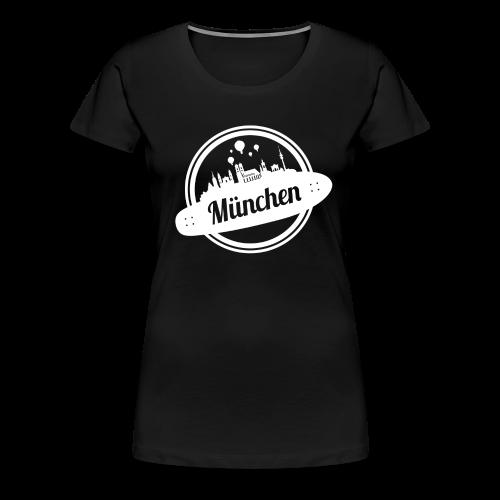 PNK - DRIVE YOUR CITY [ MÜNCHEN ] - Women - Frauen Premium T-Shirt
