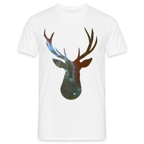 Hirschkopf - Männer T-Shirt
