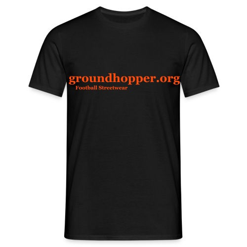 Shirt / groundhopper.org - Männer T-Shirt