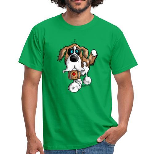 Saint-Bernard Fun - T-shirt Homme
