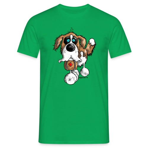 Saint-Bernard Fun - T-shirt Homme