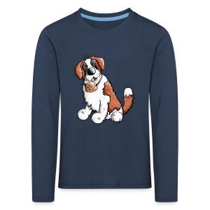 Saint-Bernard Fun - T-shirt manches longues Premium Enfant