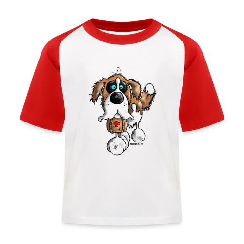 Saint-Bernard Fun - T-shirt baseball Enfant