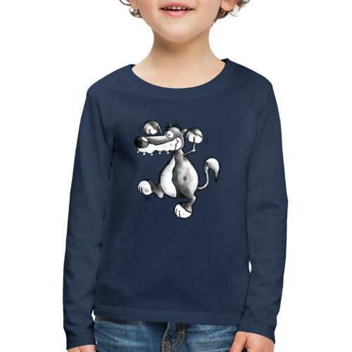 Loup - Wolf Fun - T-shirt manches longues Premium Enfant