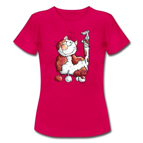 Chat Souris Fun - T-shirt Femme