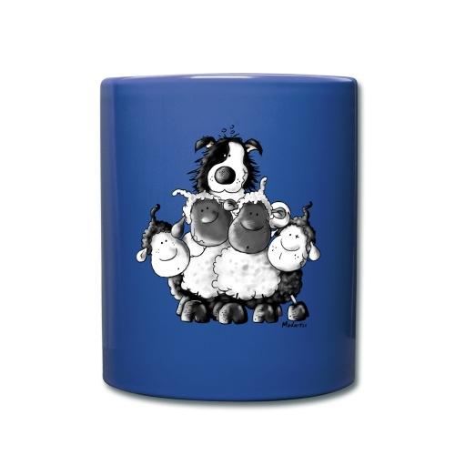 Moutons et chien Fun - Mug uni