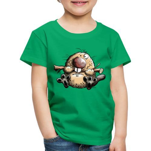 Castor Fun - T-shirt Premium Enfant