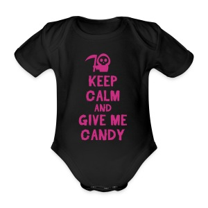 Baby girl Halloween onesie  - Organic Short-sleeved Baby Bodysuit